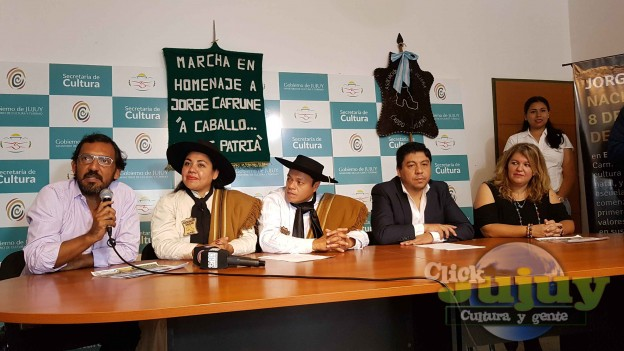 Marcha en Homenaje a Jorge Cafrune A caballo por mi patria