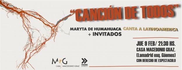 Maryta de Humahuaca canta a Latinoamérica