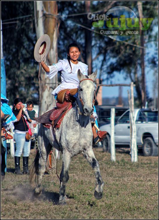 Mujeres jujeñas a caballo Juanita Moro 2