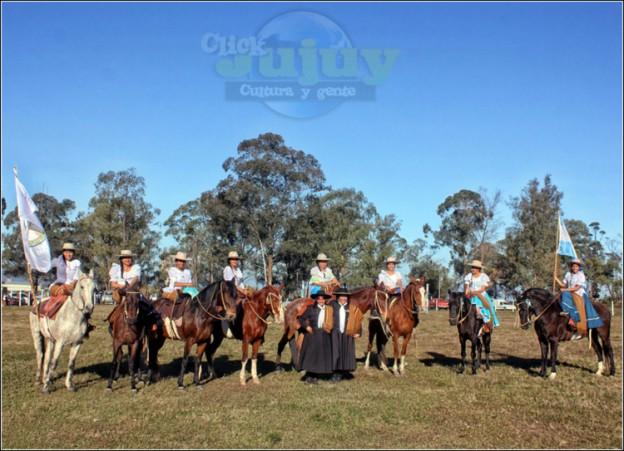 Mujeres jujeñas a caballo Juanita Moro 6