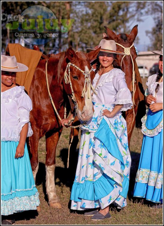 Mujeres jujeñas a caballo Juanita Moro 7