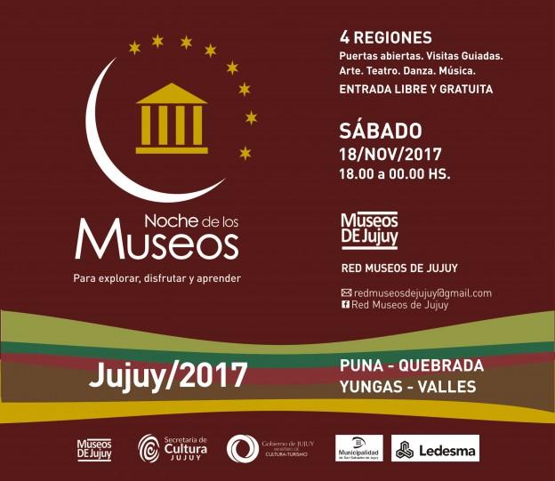 NOCHE DE LOS MUSEOS 2017 4 REGIONES