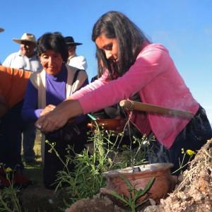 Pachamama con la Agrupación Gaucha Gral San Martin de los Paños