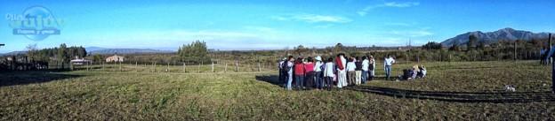 Pachama con la Agrupación gaucha Gral San Martin de los Paños