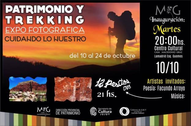 PATRIMONIO Y TREKKING muestra
