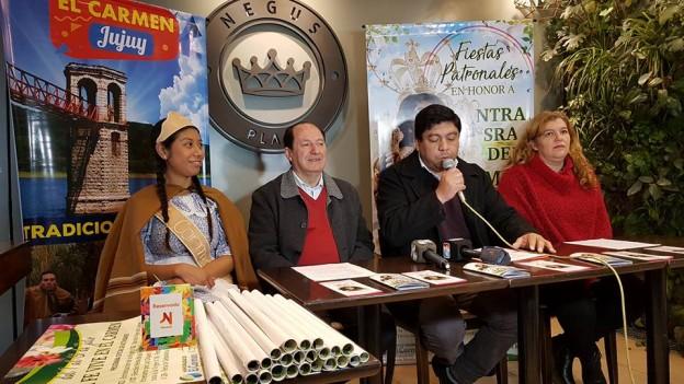 PRESENTACION DE LA FIESTAS PATRONALES DEL CARMEN EN S.S. DE JUJUY