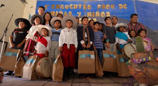 PRIMER ENCUENTRO PROVINCIAL DE NIÑOS Y NIÑAS COPLEROS 24