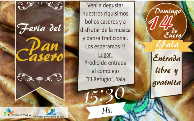 PRIMERA EDICIÓN DEL AÑO DE LA FERIA DEL PAN CASERO