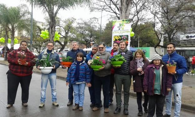 PRODUCTORES DE PLANTAS ORNAMENTALES FESTEJARON UN NUEVO ANIVERSARIO