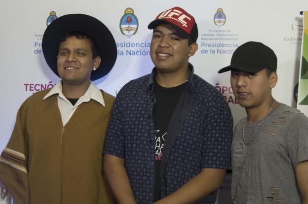 Pachamama Joven Franco Méndez y Joel Salas