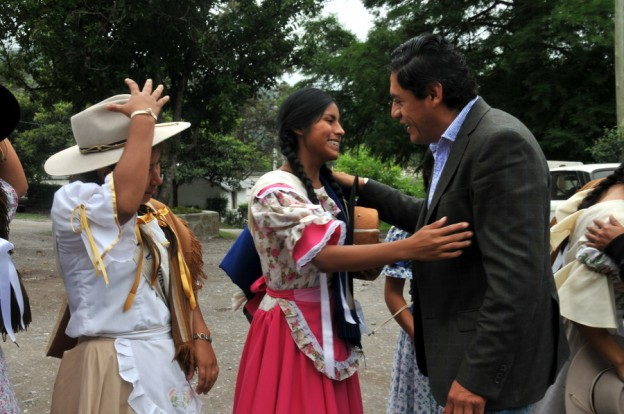 Paisanas visitaron la localidad de Yala