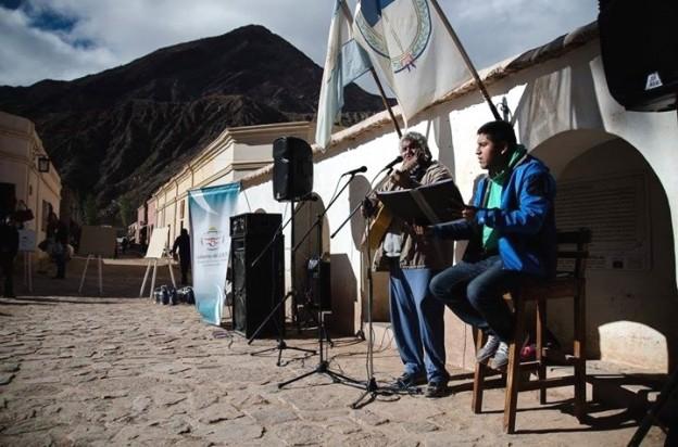 Participación de músicos en la primera edición de Plaza comunitaria el pasado 30 de abril