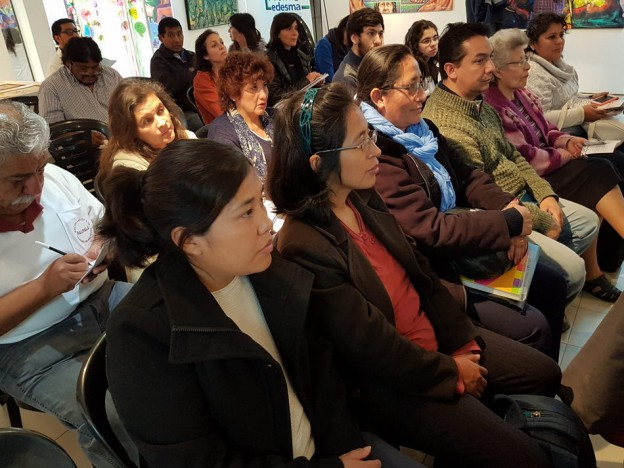 Participantes de la presentacion del Programa Entornos Creativos
