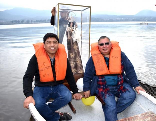 Peregrinación Itinerante por los diques (4)