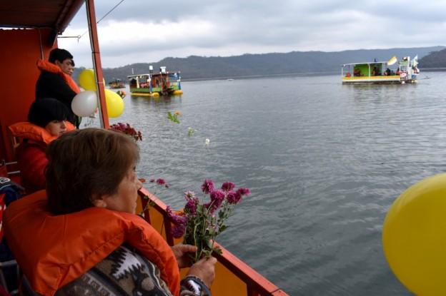Peregrinación Itinerante por los diques (9)