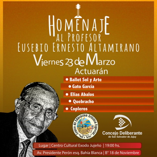 Placa homenaje Altamirano