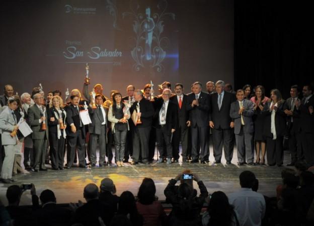 Premios San Salvador 2016
