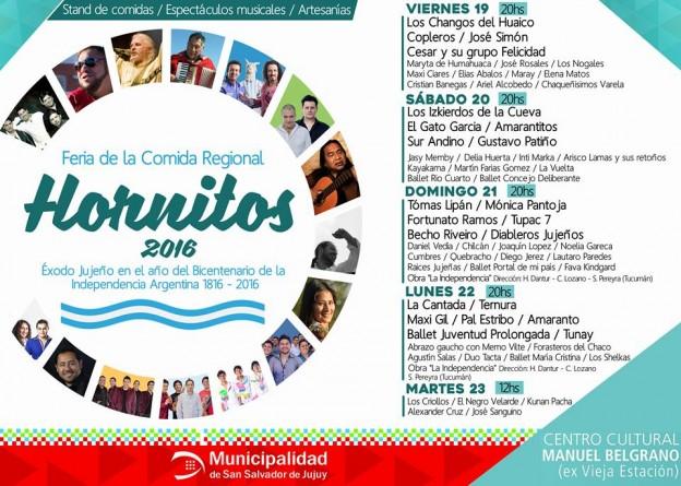 Presentan Feria de la Comida Regional -Hornitos 2016