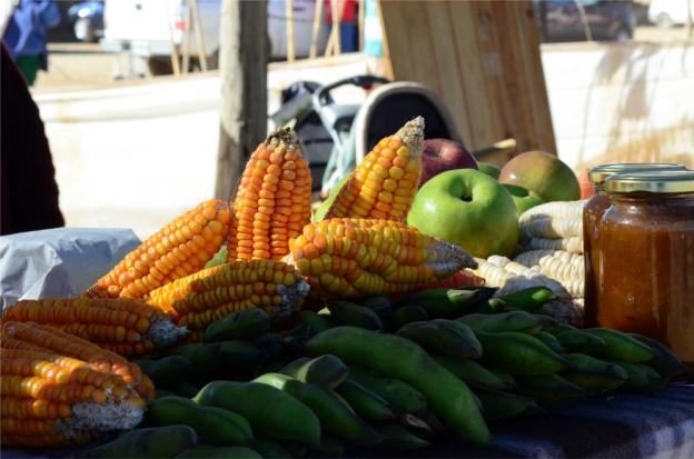 Productos de la feria de agricultores