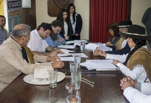 Reunión Instituciones Gauchas