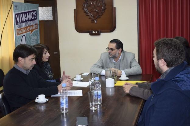 Reunión con Asoc. de Hoteles y Turismo