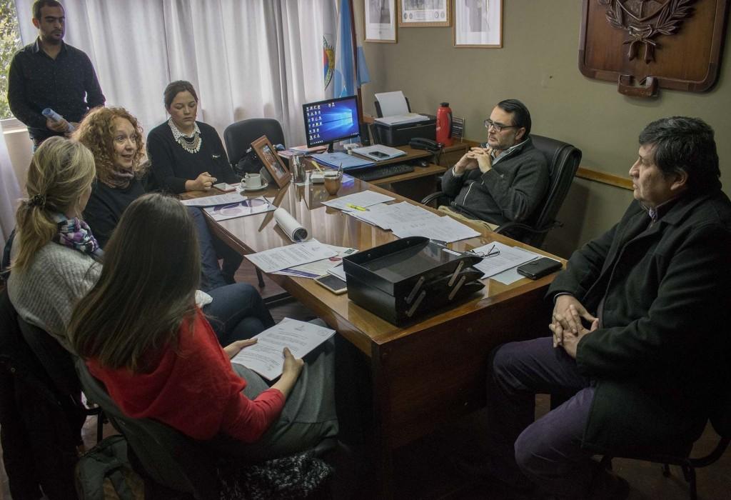 Reunión con integrantes de ACADP