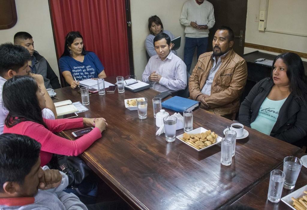 Reunión con jóvenes vecinalistas1