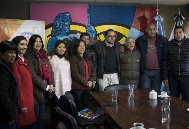 Reunión con vecinalistas de Córdoba