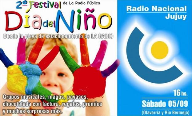 """Se viene el II Festival Día del Niño """"Una Sonrisa Nacional"""""""
