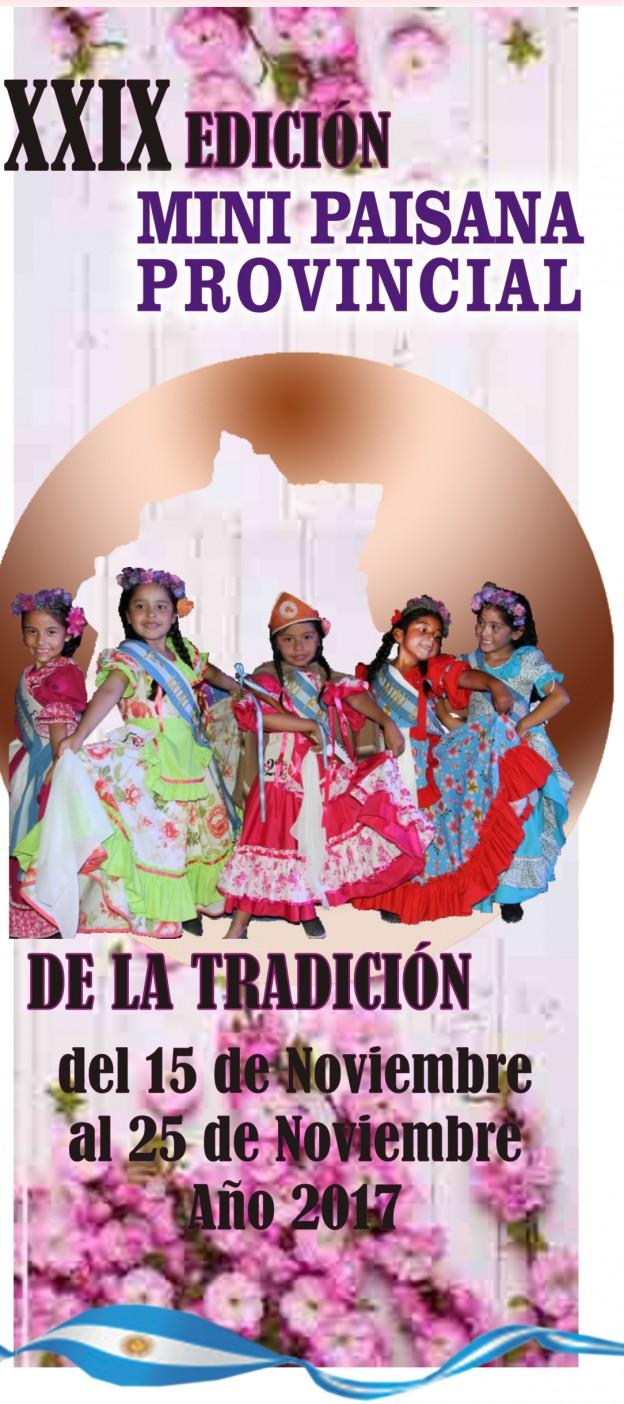 Segundo Festival de la Copla y la Expresión Cultura y la Vigésimo Novena Edición de La Mini Paisana Provincial de la Tradicion (1)