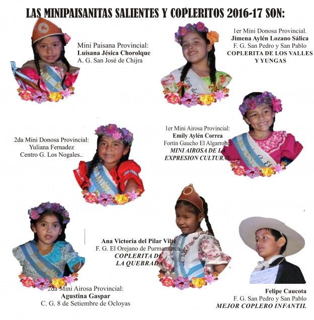 Segundo Festival de la Copla y la Expresión Cultura y la Vigésimo Novena Edición de La Mini Paisana Provincial de la Tradicion (2)
