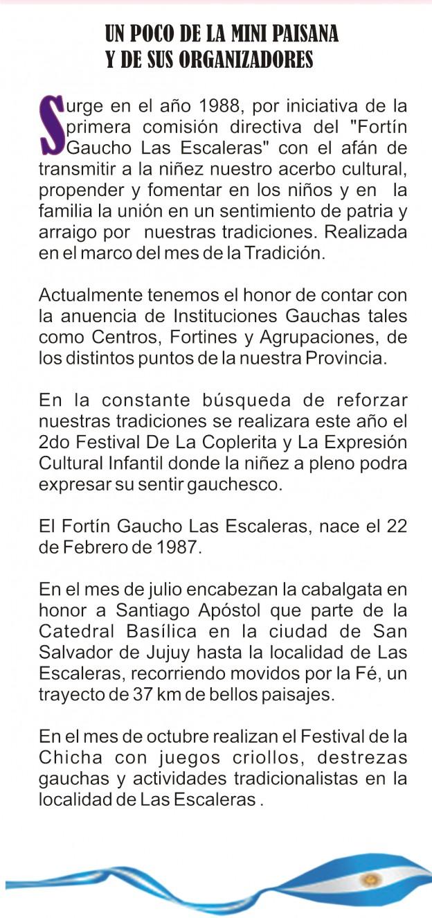 Segundo Festival de la Copla y la Expresión Cultura y la Vigésimo Novena Edición de La Mini Paisana Provincial de la Tradicion (4)