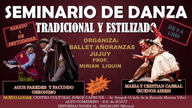 Seminario de Danzas FOLKLORICAS tradicional y estilizado