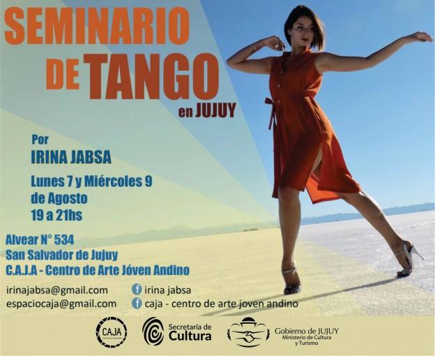Seminario de Tango en CAJA