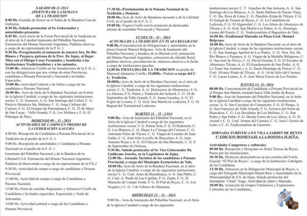 TRIFOLIO FINAL FIESTA PCIAL DE LA TRADICION 2014 – EN A CUATRO – 2014 -PARTE 2