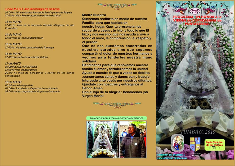 VIRGEN DE PUNTA CORRAL DE TUMBAYA (2)
