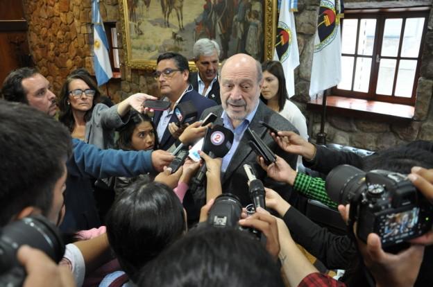 VISITA PROTOCOLAR DE ALFREDO LEUCO A LA LEGISLATURA