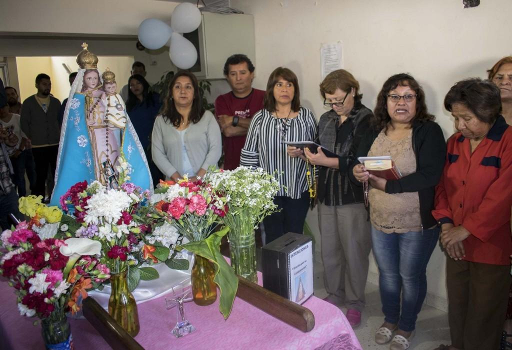 Visita Virgen de Río Blanco1