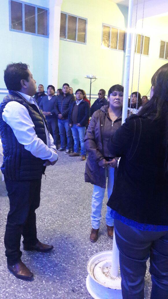 Apertura del Periodo de Sesiones Ordinarias en el Aguilar