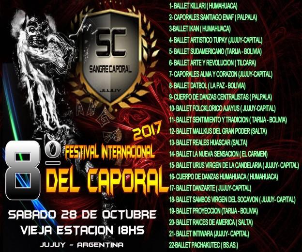 FESTIVAL INTERNACIONAL CAPORAL