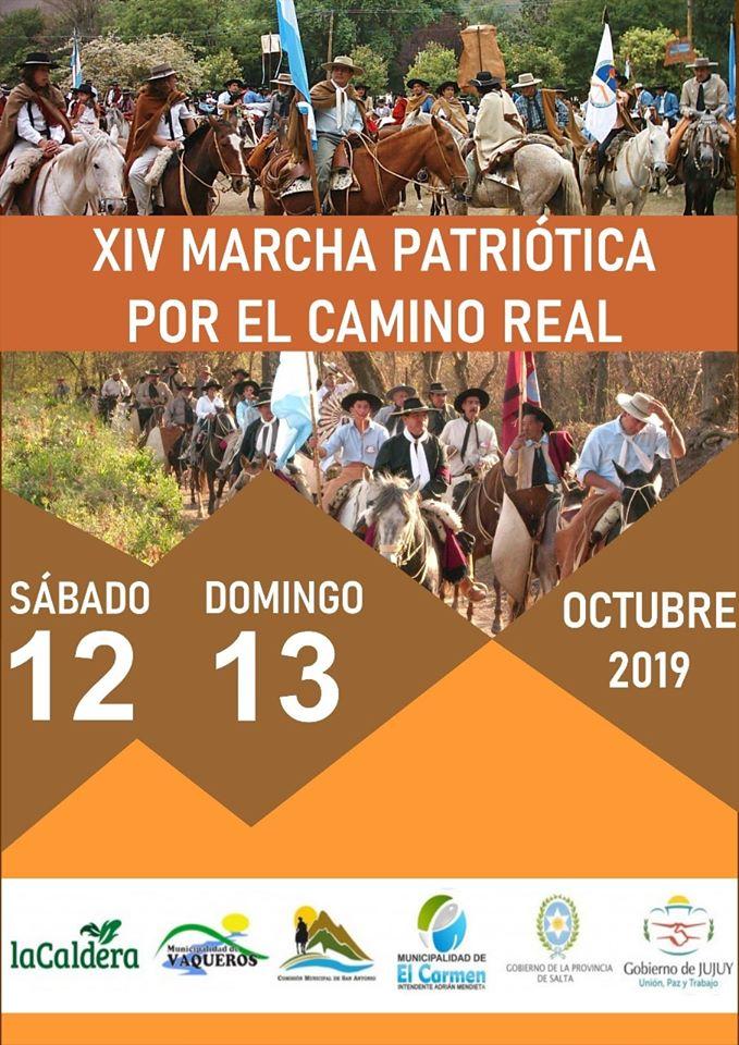 XIV MARCHA PATRIOTICA POR EL CAMINO REAL (2)