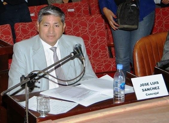 concejal José Luis Sanchez