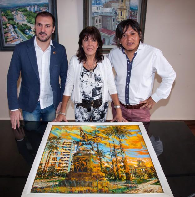concurso de pintura Rodrigo Pereira