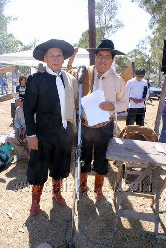 Hugo Vargas y René Chino Cruz