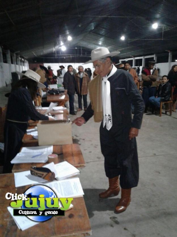 eleciones en Federacion Gaucha Jujeña 2