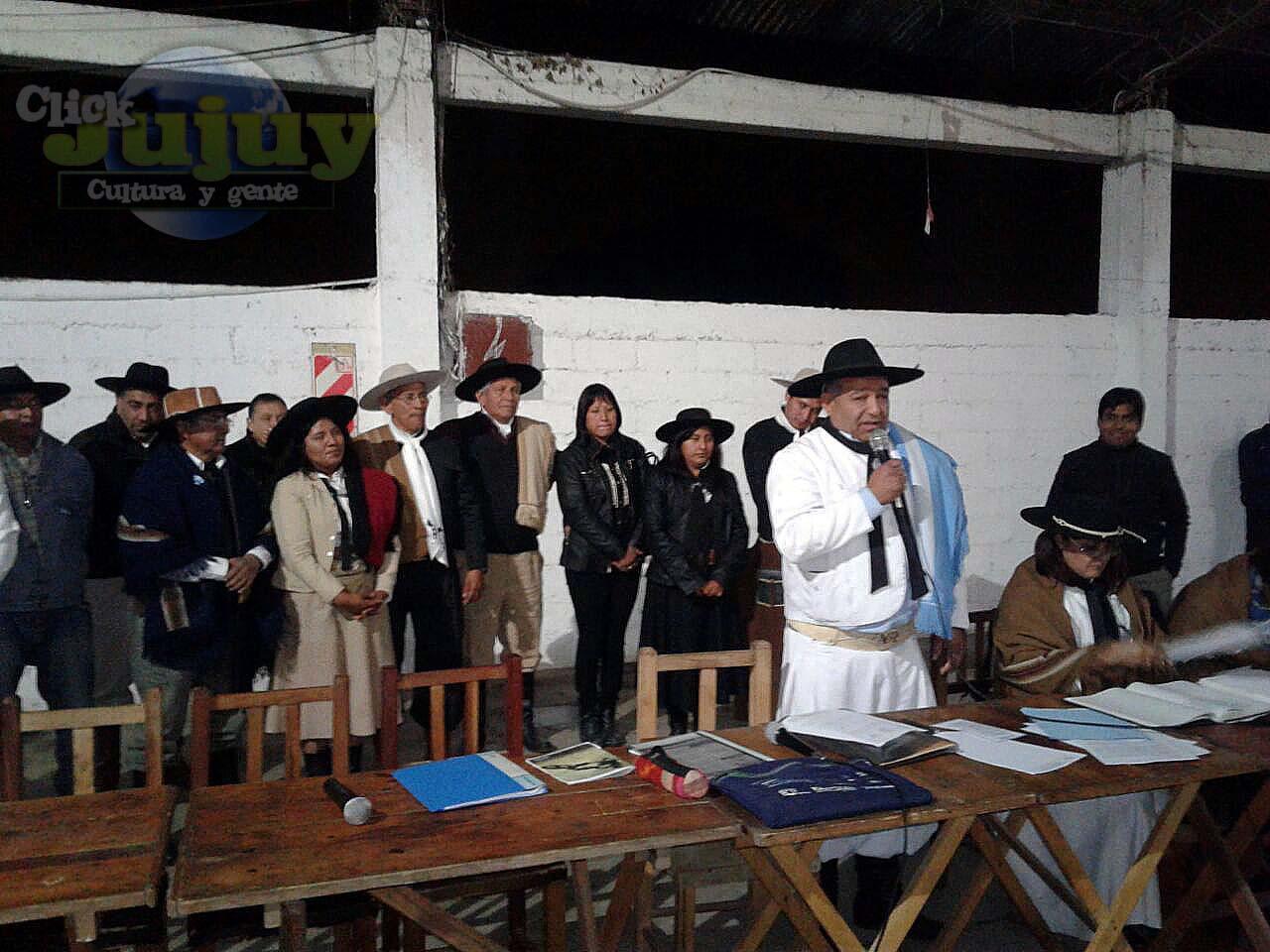 eleciones en Federacion Gaucha Jujeña Lista Blanca 2