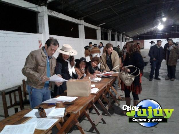 eleciones en Federacion Gaucha Jujeña