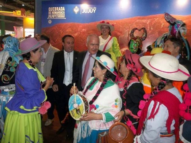 Destacada presencia jujeña en la Feria Internacional de Turismo 2014