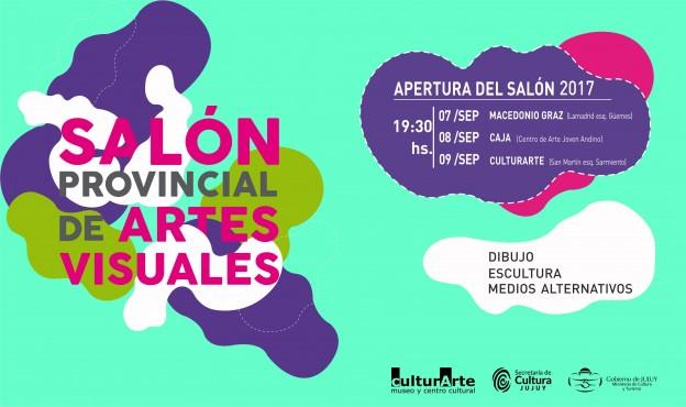 CRONOGRAMA DE INAUGURACIONES DE LAS MUESTRAS DEL SALÓN PROVINCIAL DE ARTES VISUALES 2017