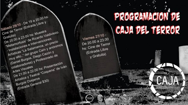 la CAJA del TERROR 27 Y 28-10-2017